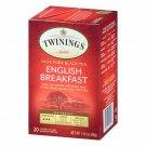 Twinings English Breakfast 20 Teabags + Black Tea