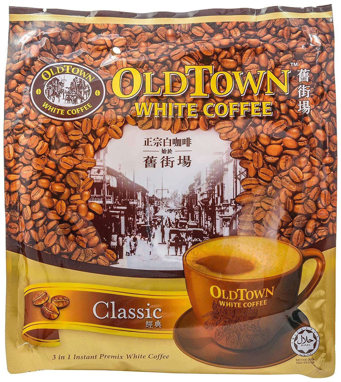 Old Town White Coffee 3 in 1 Instant Premix White Coffee Original 38g x 15 sachets