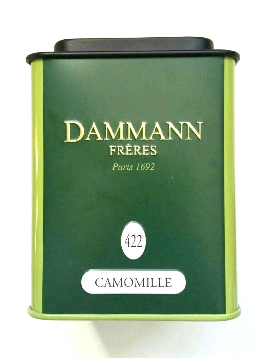 Discover Exclusive DAMMANN Camomile Chamomile Tea, 35g Loose Flowers (1 Tin)