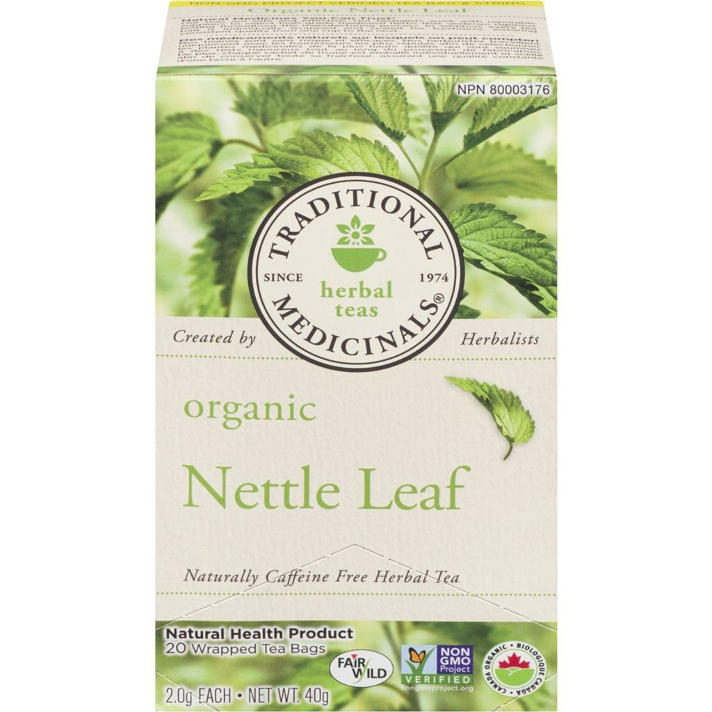 Traditional Medicinals, Organic Nettle 20 Wrapped Tea Bags Compostable (40g)