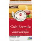 Traditional Medicinals, Organic Cold Formula 20 Wrapped Tea Bags Compostable (40g)