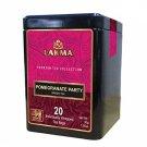 Lakma Pomegranate Party Herbal Tea 20 un