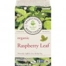 Traditional Medicinals, Organic Raspberry Leaf 20 Wrapped Tea Bags Compostable (35g)