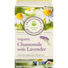 Traditional Medicinals, Organic Chamomile Herbal Tea with Lavender 20 Wrapped Tea Bags (30g)