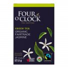 FOUR O'CLOCK Green Tea Jasmine Organic Tea 16 UN