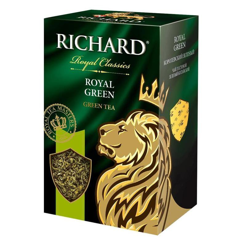 Richard Royal Green Tea 90 g Russian Tea Royal Classics, Royal Tea Masters