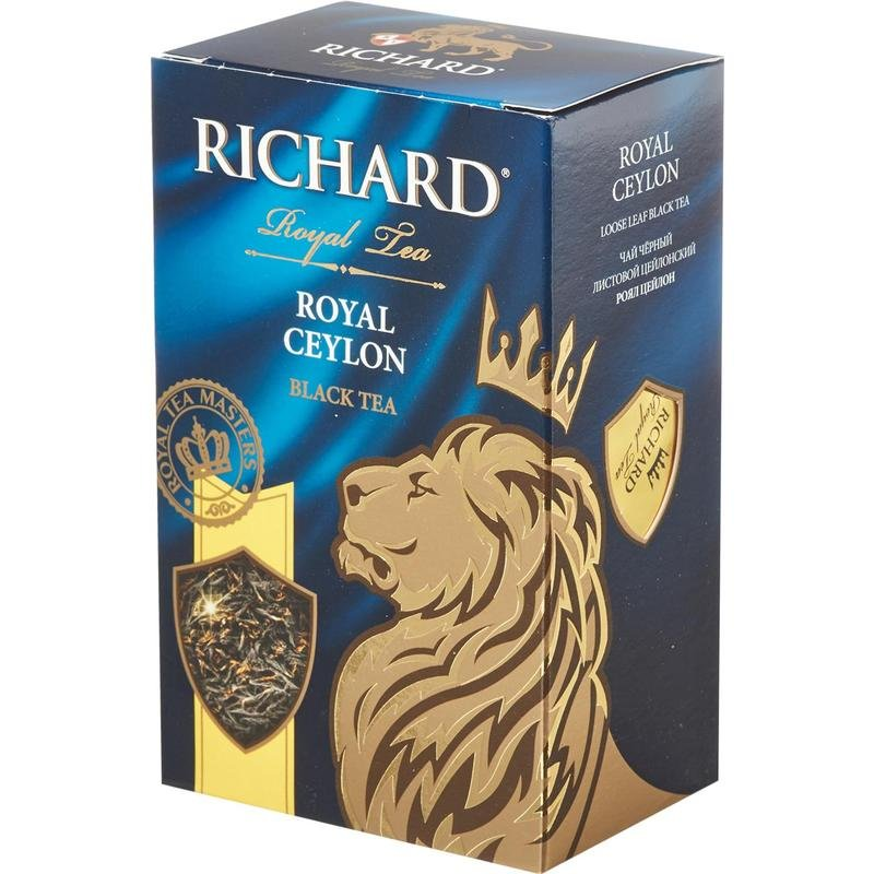 Richard Royal Black Ceylon Tea 90 g Russian Tea Royal Classics, Royal Tea Masters