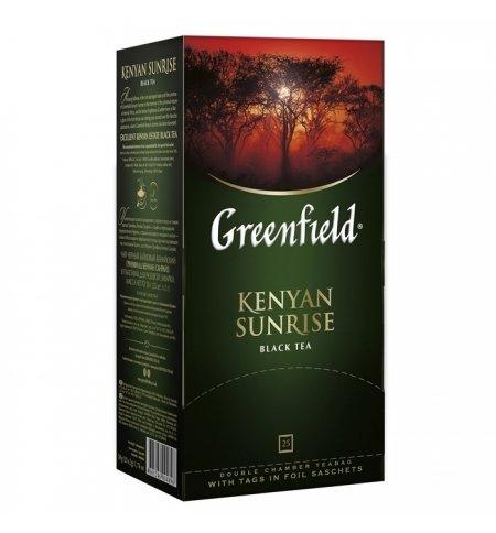 Greenfield Kenyan Sunrise Tea 25 tea bags Russian Tea