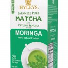 Hyleys Japanese Pure Matcha and Ceylon Sencha with Moringa 100% Natural