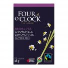 FOUR O'CLOCK Chamomile Lemongrass Organic Herbal Tea 16 UN