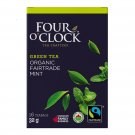 FOUR O'CLOCK Green Tea Mint Organic Tea 16 UN