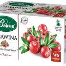 BIFIX Bi Fix Herbal Tea Cranberry BIOFIX Zurawina