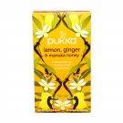 PUKKA Organic Lemon Ginger Manuka Honey Herbal Tea 20 un