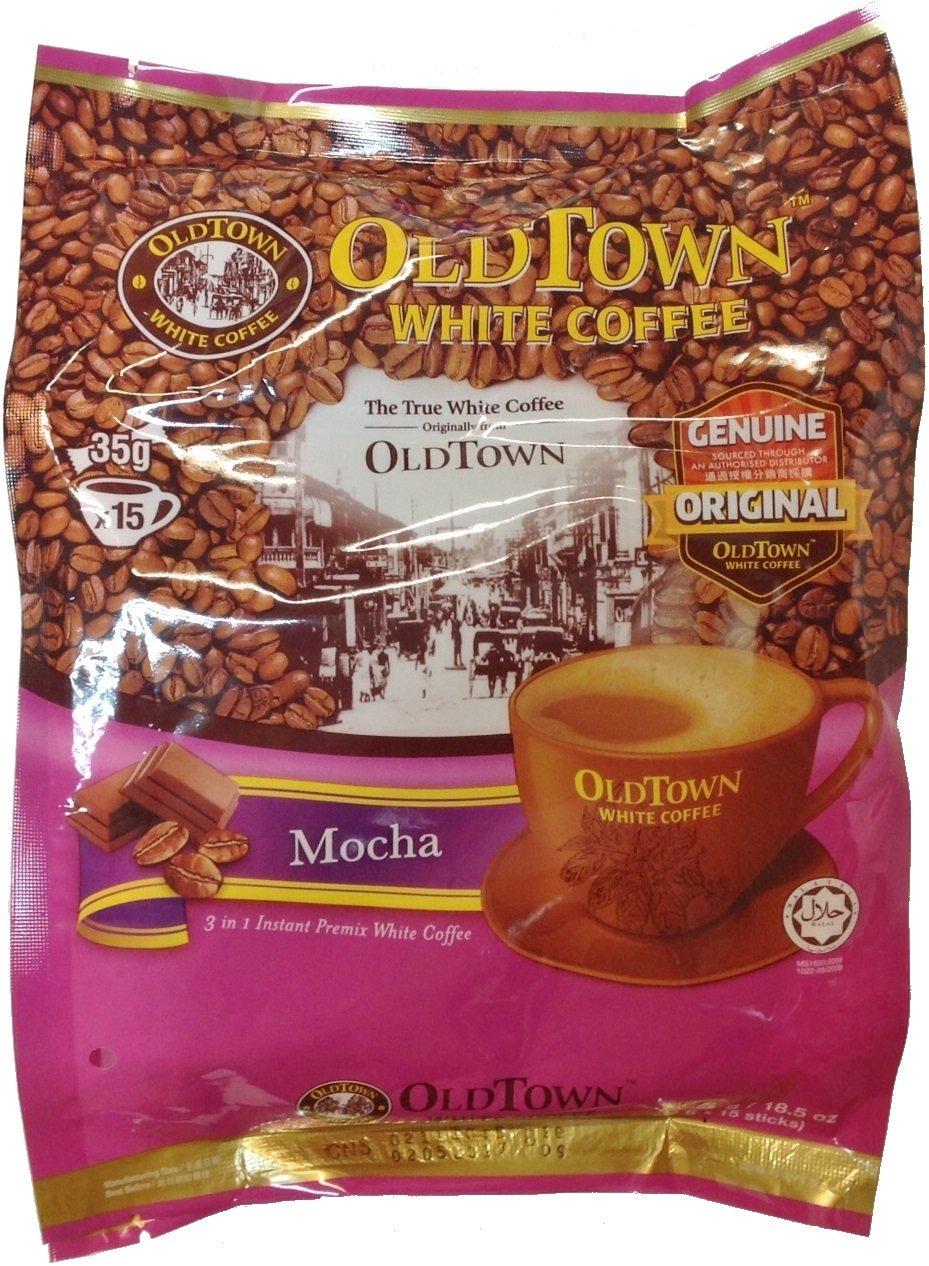 Old Town White Coffee Instant Premix White Coffee Mocha 35g x 15 sachets