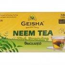 Geisha Pure Neem Herbal Tea, 25 tea bags