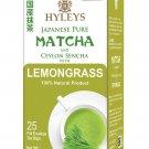 Hyleys Japanese Pure Matcha and Ceylon Sencha with Lemongrass 100% Natural