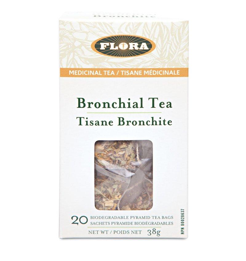 FLORA, Bronchial Tea, Herbal Tea, 20 tea bags, 38g