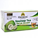Guyabano Graviola Soursop Guanabana Herbal Tea, 25 tea bags