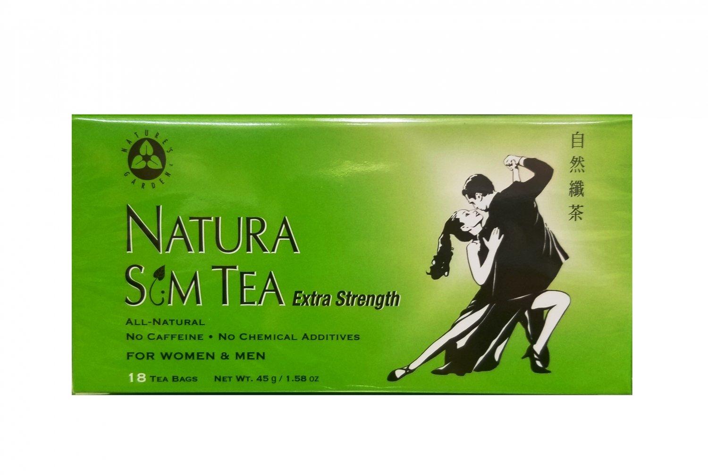 Natures Garden Natura SM Extra Strength Herbal Tea Weight Loss Dieters Tea 18 un