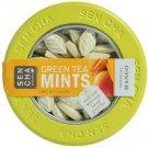Green Tea Mints with Sen cha Tropical Mango Sencha Naturals tin