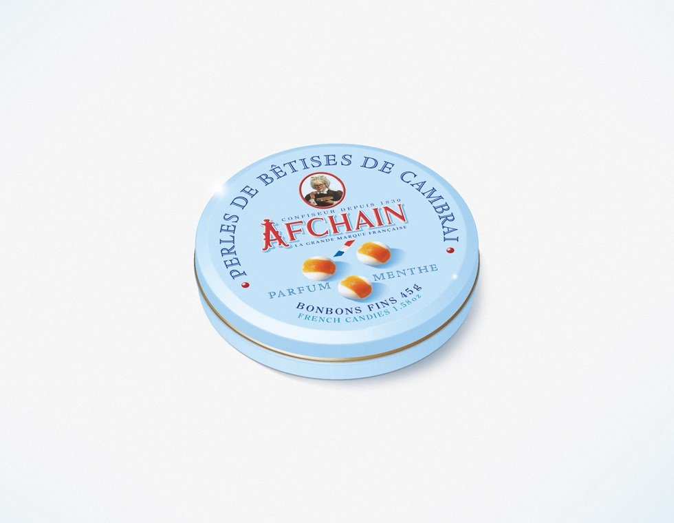 Perles de Bêtises Tin Mint parfum flavour 45g 1.58oz