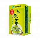 ITO EN Matcha Genmaicha 20 tea bags Japan's #1 green tea brand!