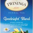 Twinings Goodnight Blend Herbal Tea 20 tea bags