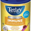 Tetley Immune Super Herbal Tea 20 tea bags