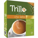 Trillo Instant Tea Mix Chai Latte, cardamon, Aromatic & Smooth, Calming Taste in Every Sip