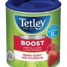 Tetley Super Green Tea Boost Berry Burst Super Herbal Tea 20 tea bags