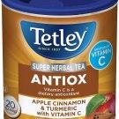 Tetley Antiox Super Herbal Tea with Apple, Cinnamon, & Turmeric 20 tea bags