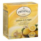 Twinings Lemon Ginger Herbal Tea 50 tea bags