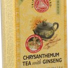 Triple Leaf Chrysanthemum with Ginseng herbal tea 20 tea bags