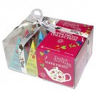 English Tea Shop Collection Pyramid, Organic Super fruits Collection Tea Christmas Gift Idea