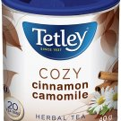 Tetley Cozy Cinnamon Camomile Herbal Tea 20 tea bags