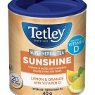 Tetley Super Herbal Tea Sunshine Lemon & Orange with Vitamin D 20 tea bags
