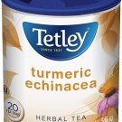 Tetley Turmeric Echinacea Herbal Tea 20 tea bags