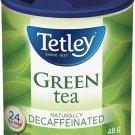 Tetley Decaffeinated Green Tea 24 tea bags ON SALE