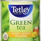 Tetley Green Tea Honey Lemon Ginseng 24 tea bags