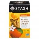 Stash Herbal Tea Sunny Orange Ginger 18 tea bags