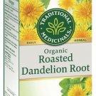 Organic Dandelion Leaf and Root Herbal Tea - 20 Bags 30 g Traditional Medicinals