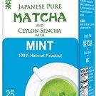 Hyleys Japanese Pure Matcha and Ceylon Sencha with Mint 100% Natural