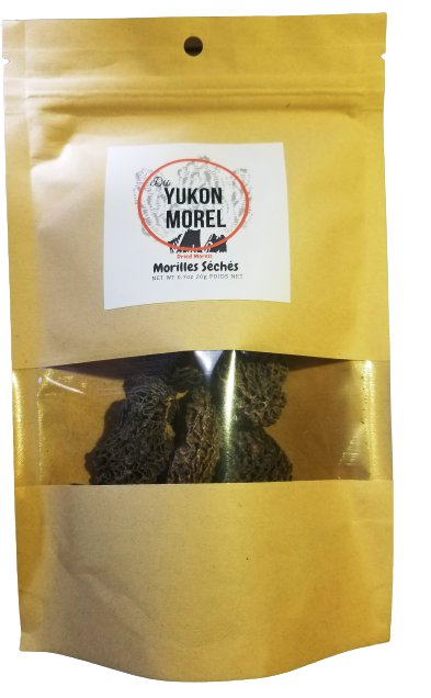 Dried Morel mushrooms (0.7oz), Wild mushrooms 20g from Yukon