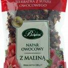 BIFIX Bi fix Infusion Z Malina Raspberry Fruit Tea 100g Bi fix Dried fruits tea