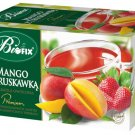 Mango and Strawberry Herbal Tea 20 tea bags BIFIX Bi Fix Biofix