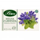 BIFIX Bi Fix Tea Lemon Balm with Lavender Biofix Melisa Melisse Z Lawenda Lavande Herbal Tea