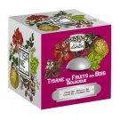 Forest Fruits Organic Herbal Tea 24 tea bags - 36g - Paper box - Tisane aux Fruits des Bois