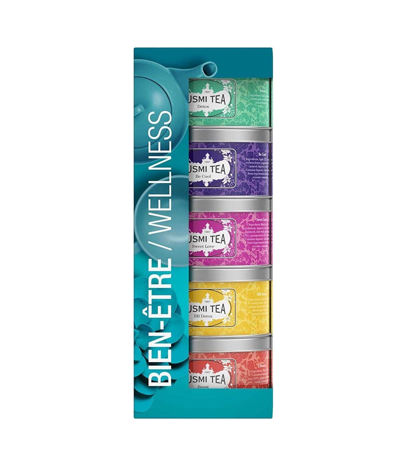 Kusmi Tea Paris - Wellness Teas Assortment 5x25g