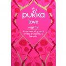 PUKKA Love Herbal Tea 20 un Organic Rose, Chamomile & Lavender Tea, Caffeine Free