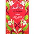 PUKKA Revitalise Herbal Tea 20 un Organic Cinnamon, Cardamom, & Ginger Tea